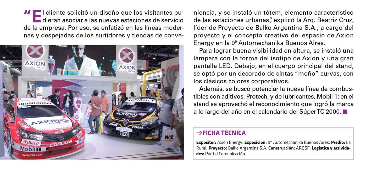 Revista Ferias y Congresos Balko Axion Energy