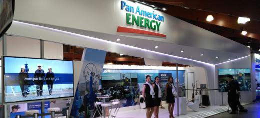Stand Pan American Energy  Oil & Gas Patagonia 2016