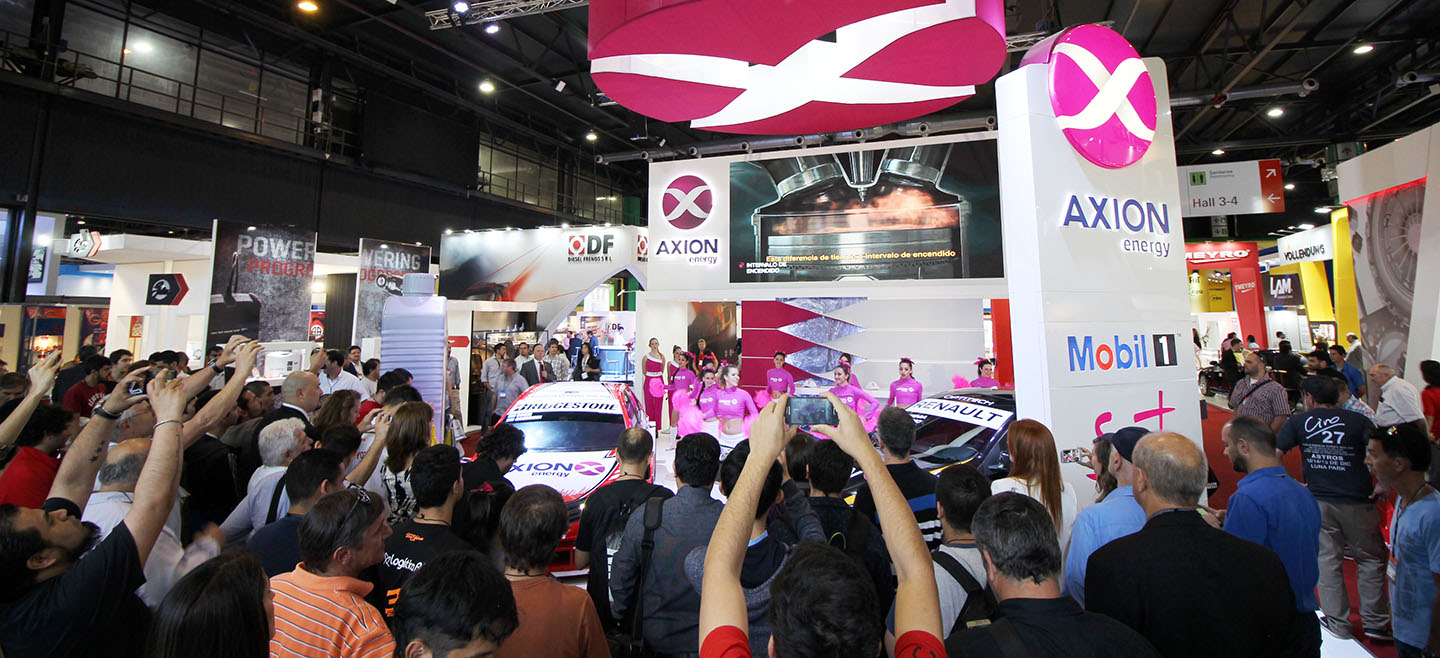 Stand Automechanika Buenos Aires 2016